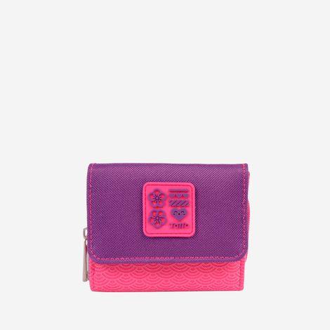 billetera-para-mujer-en-lona-oreca-rosado-Totto