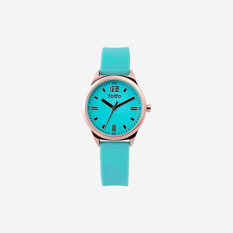 reloj-analogo-para-mujer-3-atm-naranja-palmer-azul-Totto