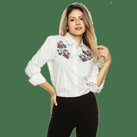 98bd6595b Camisa para Mujer con Bordados Chiasa en gt.totto.com - Totto-2018