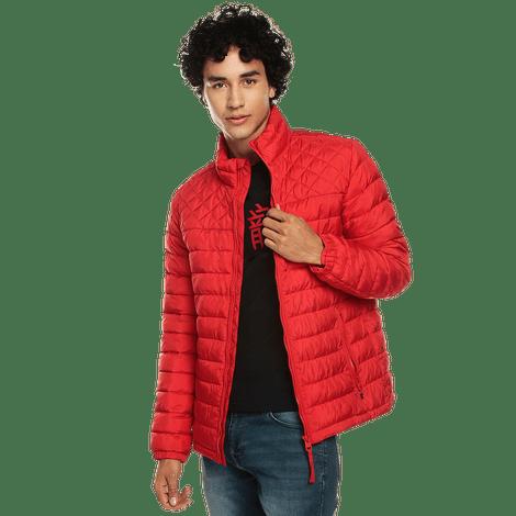 chaqueta-para-hombre-cuello-alto-colman-rojo-goji-berry
