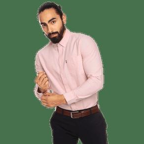 camisa-para-hombre-manga-larga-oxford-chelo-rosado-rose-tan